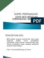 Aspek Perpajakan Bos 2014
