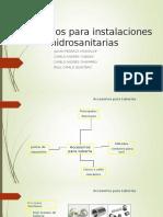 Accesorios Para Instalaciones Hidrosanit
