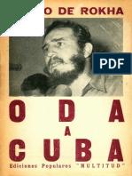 Pablo de Rokha Oda a Cuba