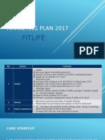Marketing Plan Fitlife 2017