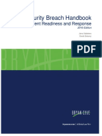Bryan Cave Data Breach Handbook 2016 Ed