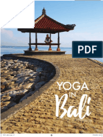 Get a Flavour of Yoga in Bali