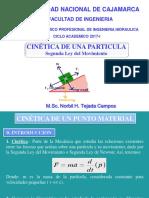 Cinetica de Un Punto Material - 2017-I - Fuerza y Aceleracion