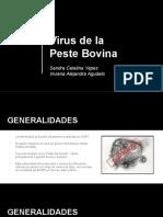 Expo Virus de La Peste Bovina (Tópico)