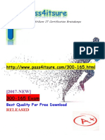 New Pass4itsure Cisco 300-165 Dumps PDF - DCII Implementing Cisco Data Center Infrastructure (DCII)