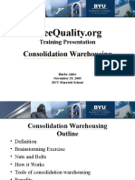 Consolidation Warehousing 2