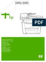 Mode d'Emploi HP Laserjet 3390