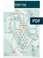 Singapore Train System Map