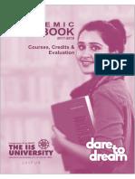 Academic Handbook 2017-18