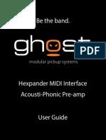 Ghost Installation Manual