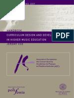 Curriculum Design and Development in Higher Music Education 2007.pdf