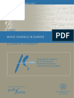 Music Schools in Europe Final 2007