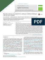 newsome et al 2014 microbial u vi  reduction