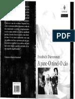 A Pane O Tunel O Cao Friedrich Durrenmatt.pdf