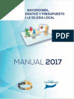 Mayordomia Plan Operativo 2017