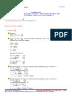 Pembahasan Olimpiade Matematika Its 2011 Tingkat Smp Babak Penyisihan Bagian II Isian Singkat