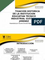 Devenir Historico Del Colegio de Bachillerato Técnico Industrial
