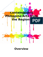 DLL for Contemporary Philippine Arts From the Region | Curriculum