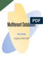 Multitenant Databases