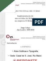 CET IMRSI Apresentação Final Curso