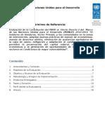 Tdr Efecto 2 Honduras Revisado CORE Programa