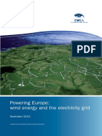 Powering Europe; Wind Energy and the Electricity Grid