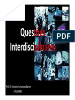 Questoes interdisciplinares