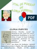 Recital Poético de Gloria Fuertes