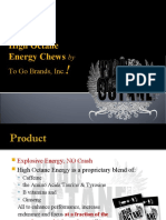 Energy Chews Restores the Lost Power Instantly