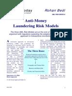 AML RiskModels