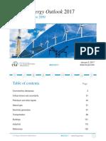 Annual Energy Outlook 2017