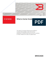 What is Carrier Grade Ethernet