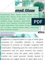 Toughened Glass Manufacturing Plant, Detailed Project Report, Profile, Business Plan, Industry Trends, Market Research, Survey, Manufacturing Process, Machinery, Raw Materials, Feasibility Study, Investment Opportunities, Cost and Revenue, Plant Economics, Production Schedule, Working Capital Requirement, Plant Layout, Process Flow Sheet, Cost of Project, Projected Balance Sheets, Profitability Ratios, Break Even Analysis