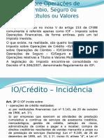 Aula 06 - Imposto Sobre Operações de Crédito, Câmbio,