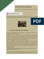 Función Legislativa Municipal