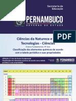 Classificação Dos Elementos Químicos de Acordo Com a Tabela Periódica e Suas Propriedades