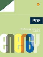 Shell Energy Scenarios2050