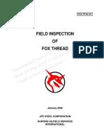 Fox Public Fox-tp-m-101 Field Inspection