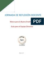 Jornada de Reflexión MBE 2017 Guía Directivos