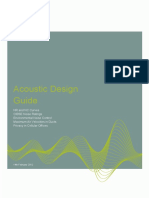 Caice Acoustic Design Guide