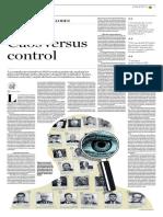 Caos Versus Control