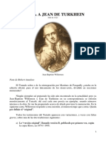 Carta a Jean de Turkhein Julio 1821 - Willermoz, Jean Baptiste