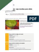Sucos Verdes_ Veja Receitas Para Dieta Healthy Detox - Receitas - Receitas GNT