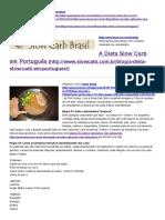 A Dieta Slow Carb Em Português » Slow Carb Brasil