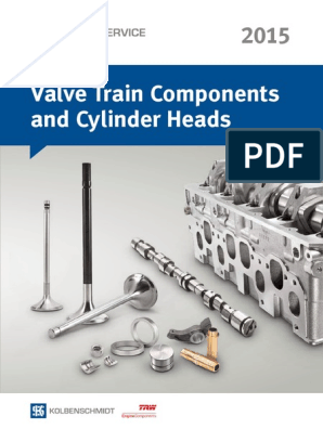 Valve Train Components And Cylinder Heads Catalogue Vehicle