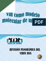 VIH Como Modelo Molecular de Un Virus