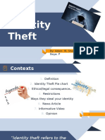 Identity Theft PowerPoint