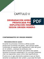 Capítulo v Investigación de Áreas Degradadas Por Minería