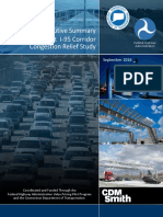 I-95 Corridor Congestion Relief Study - Executive Summary
