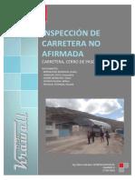 Inspeccion de Carretera No Afirmada (c.p - Milpo)